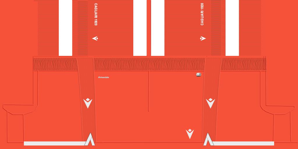 Cagliari GK Shorts Kits Cagliari 2019 2020