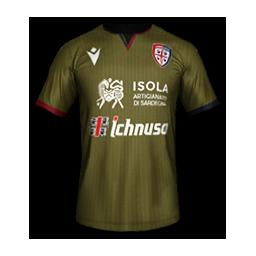 Cagliari Third MiniKit Kits Cagliari 2019 2020