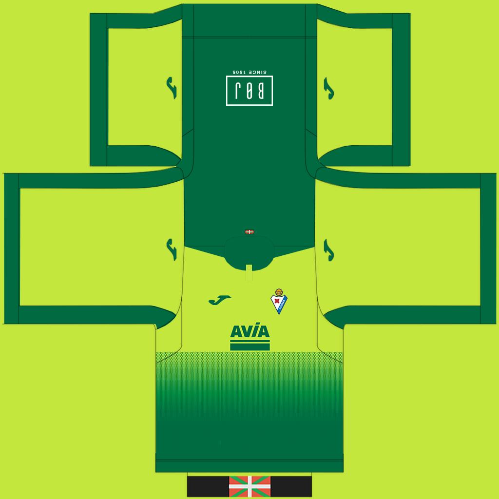 Eibar Away Kit Kits Eibar 2019 2020