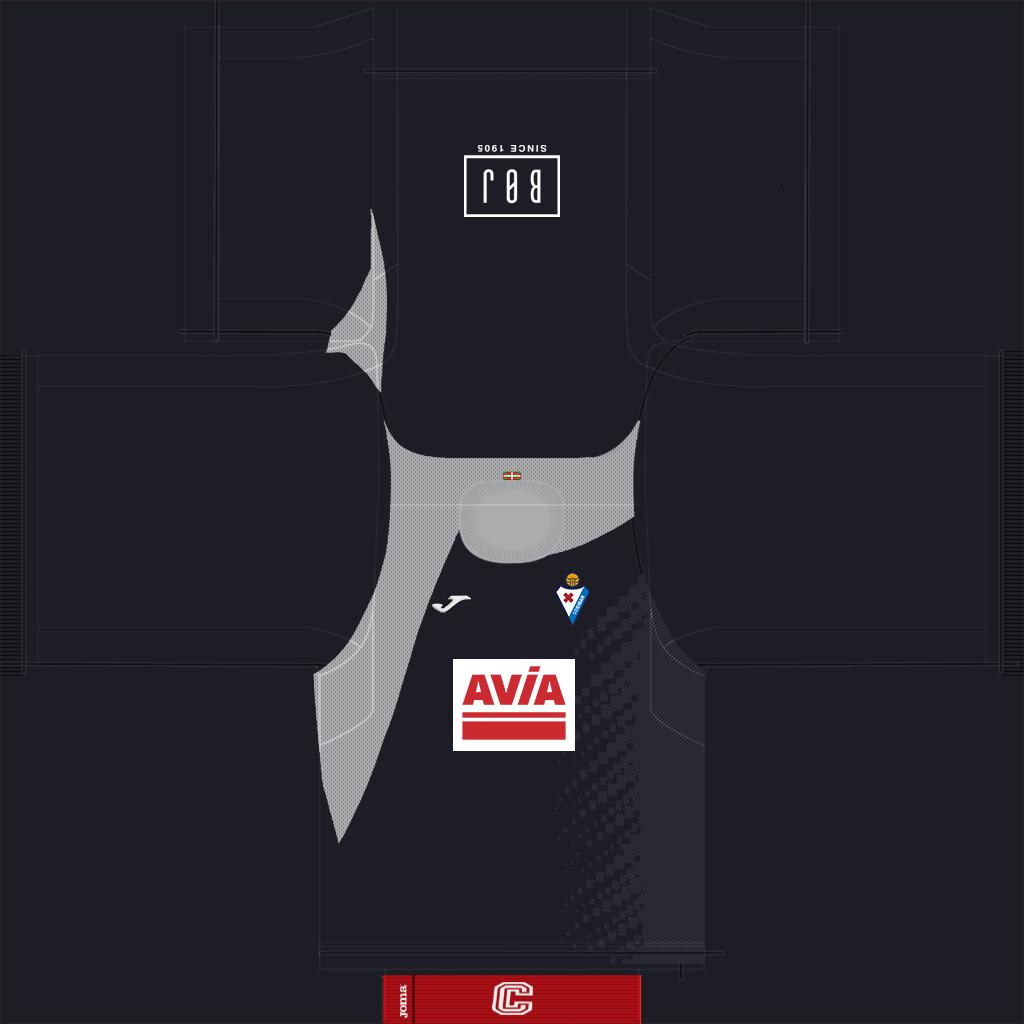 Eibar GK Away Kit Kits Eibar 2019 2020