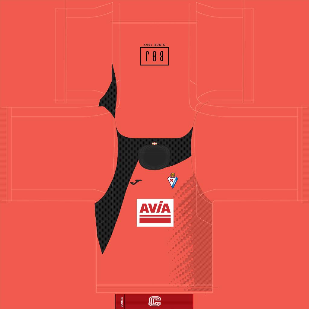 Eibar GK Home Kit Kits Eibar 2019 2020