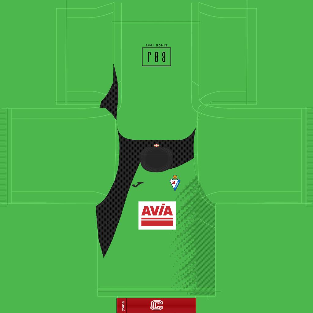 Eibar GK Third Kit Kits Eibar 2019 2020