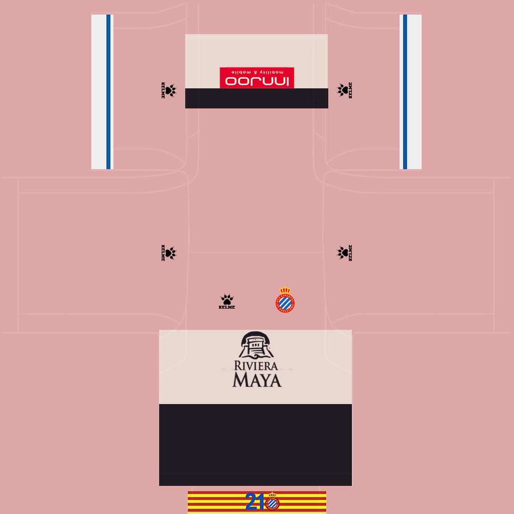 Espanyol Away Kit Kits Espanyol 2019 2020