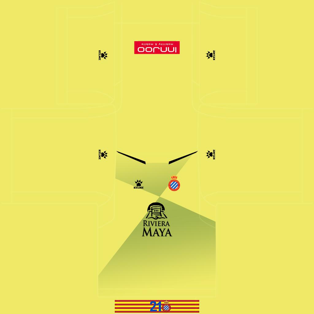 Espanyol GK Away Kit Kits Espanyol 2019 2020