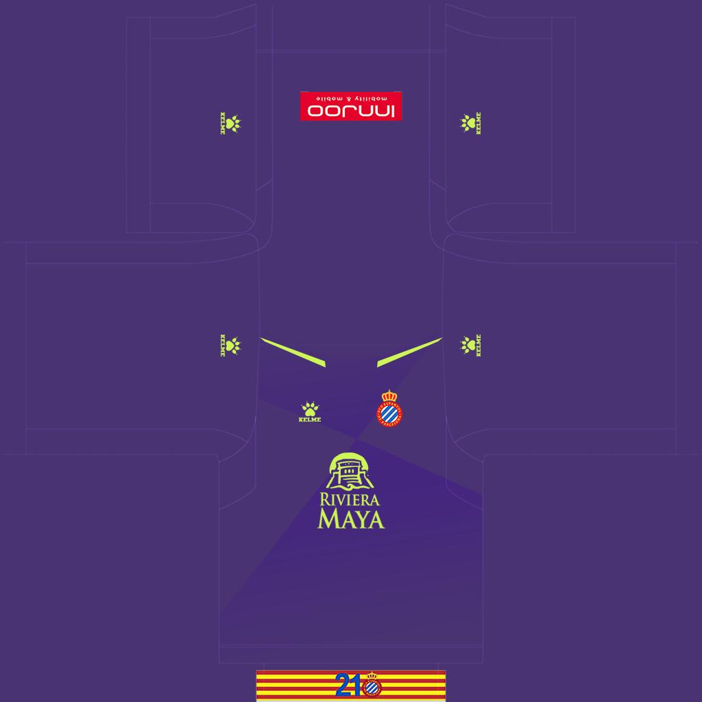 Espanyol GK Home Kit Kits Espanyol 2019 2020