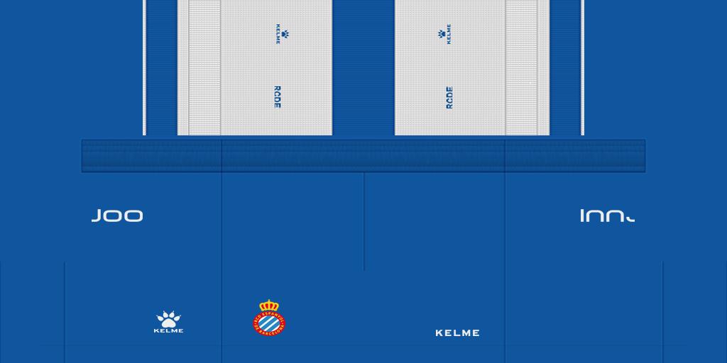 Espanyol Home Shorts Kits Espanyol 2019 2020