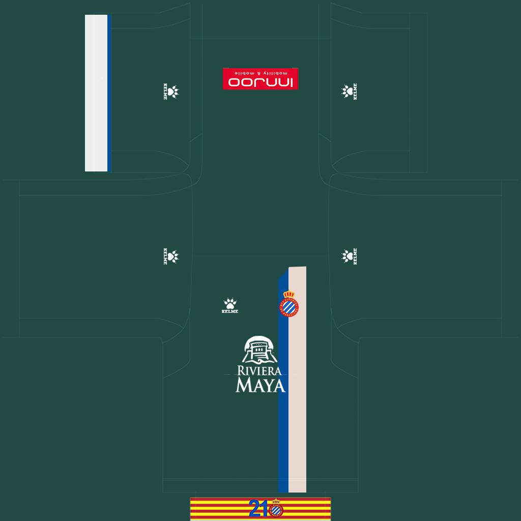 Espanyol Third Kit Kits Espanyol 2019 2020