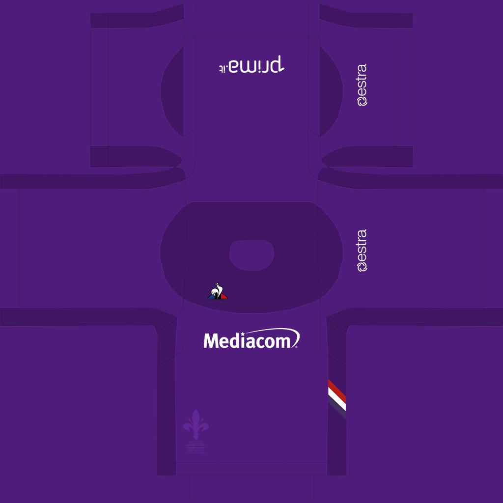 Fiorentina Home Kit Kits Fiorentina 2019 2020