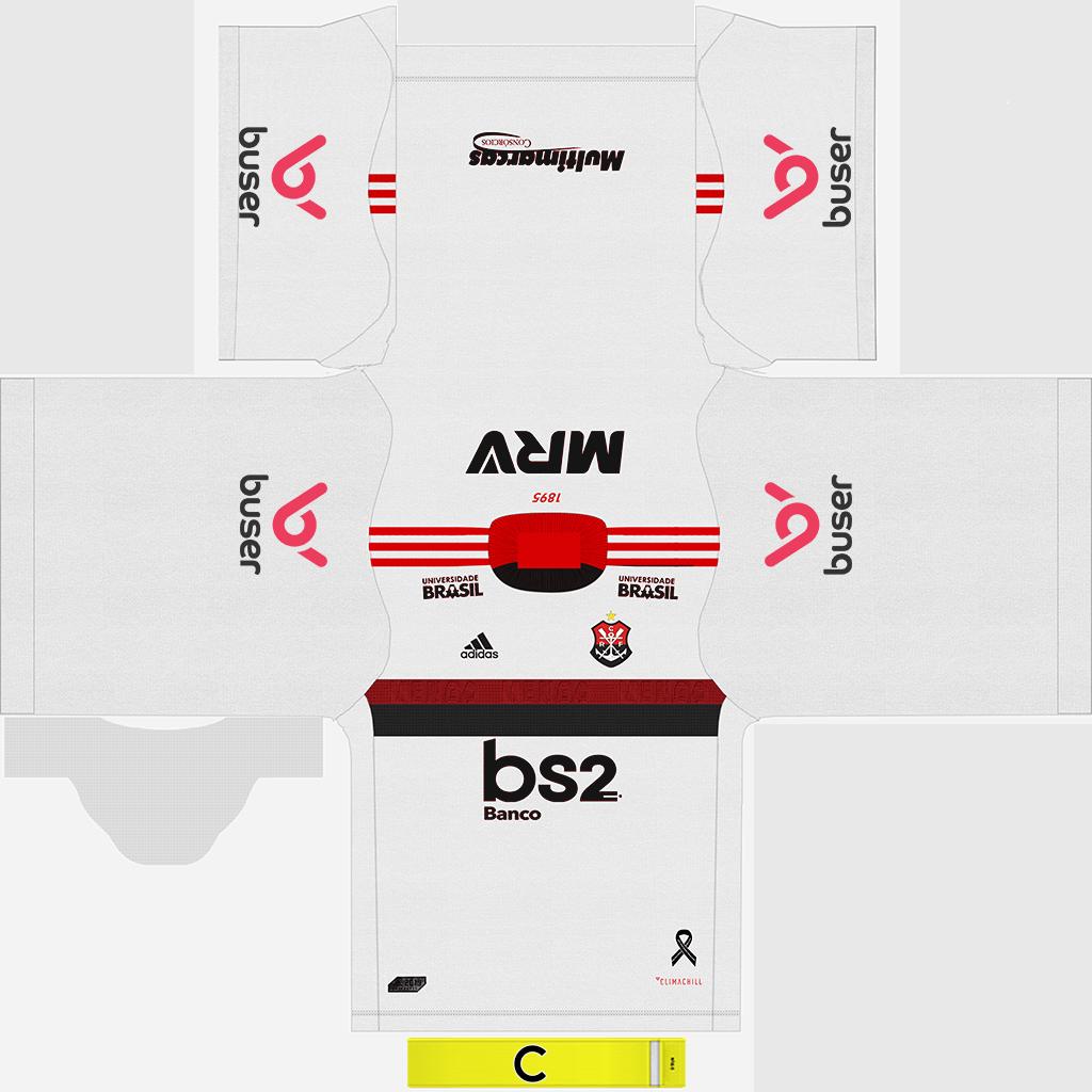 Flamengo Away Kit 2 Kits 8211 Flamengo 8211 2019 2020