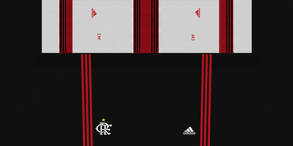 Flamengo Away Shorts 1 Kits 8211 Flamengo 8211 2019 2020