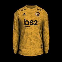 Flamengo GK Away MiniKit Kits 8211 Flamengo 8211 2019 2020
