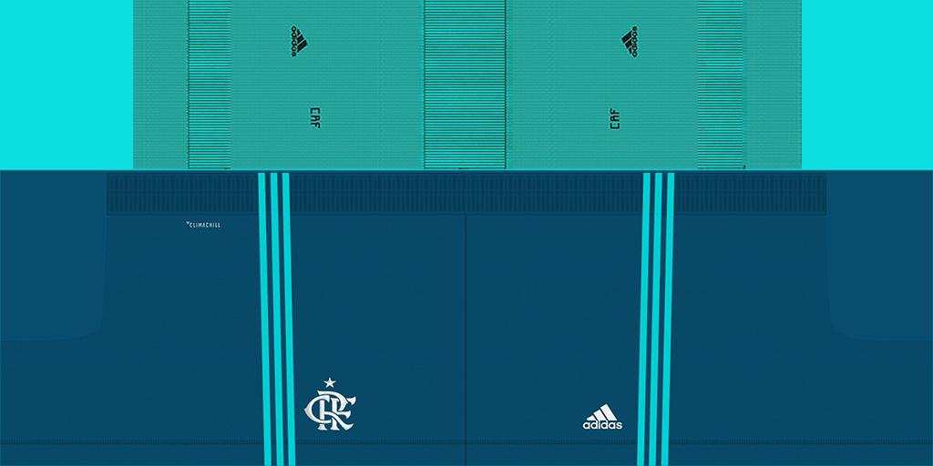Flamengo GK Home Shorts 2 Kits 8211 Flamengo 8211 2019 2020