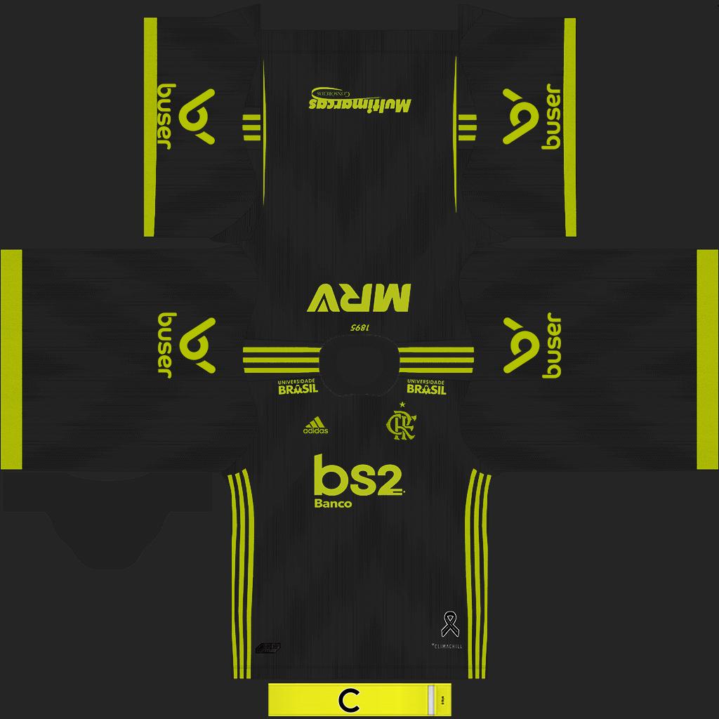 Flamengo Third Kit Kits 8211 Flamengo 8211 2019 2020