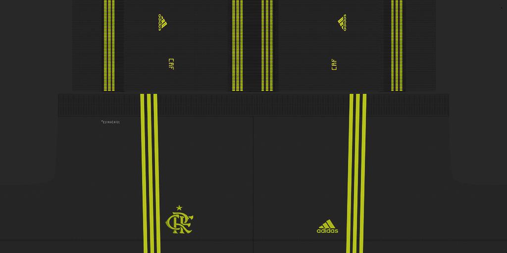 Flamengo Third Shorts Kits 8211 Flamengo 8211 2019 2020