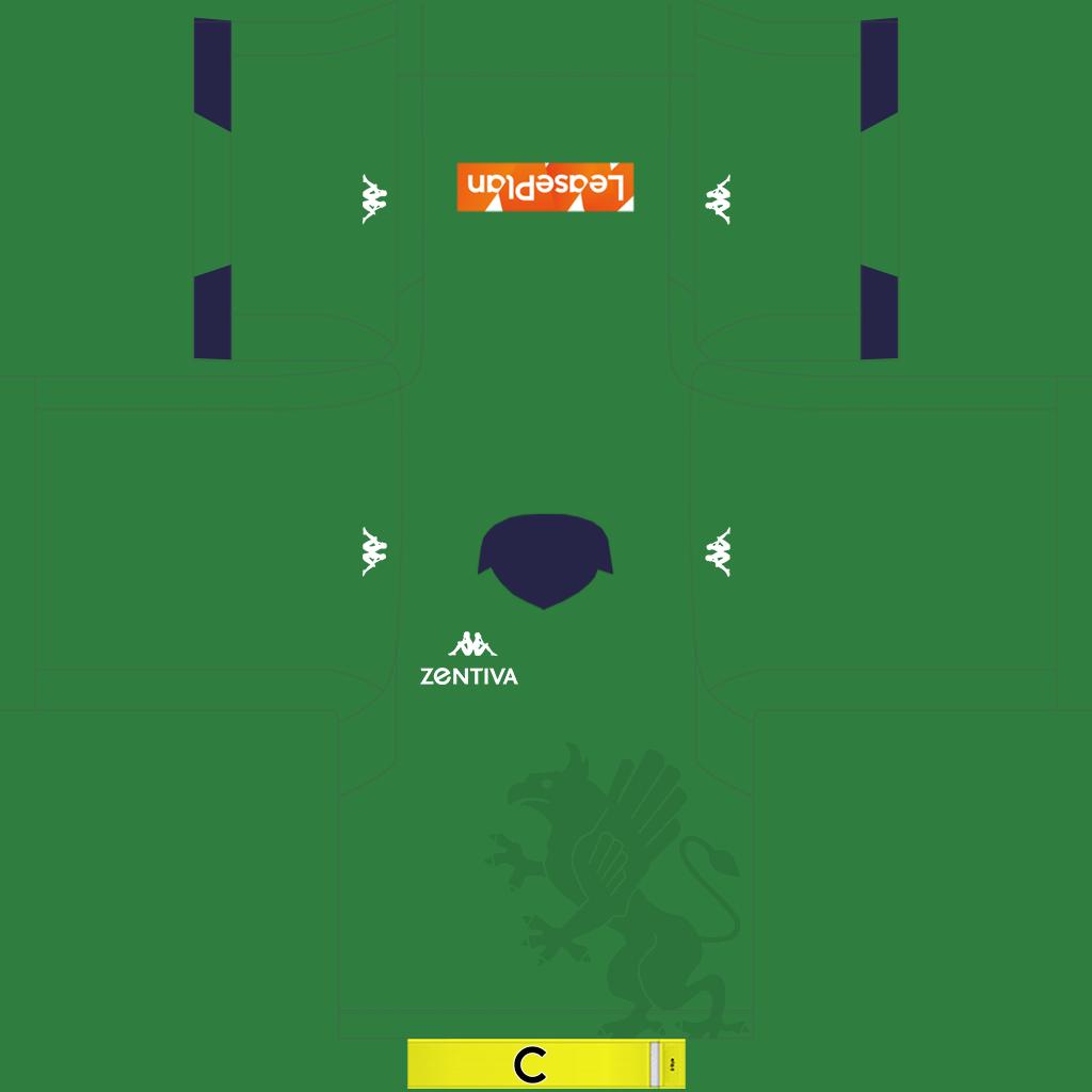Genoa GK Away Kit Kits Genoa 2019 2020