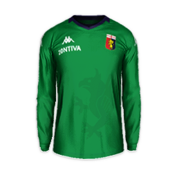 Genoa GK Away Minikit Kits Genoa 2019 2020