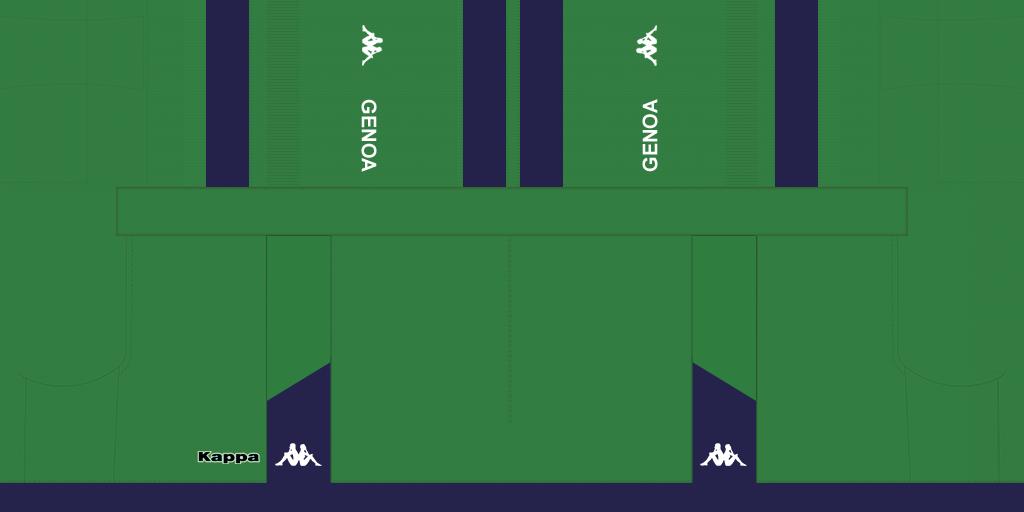 Genoa GK Away Shorts Kits Genoa 2019 2020