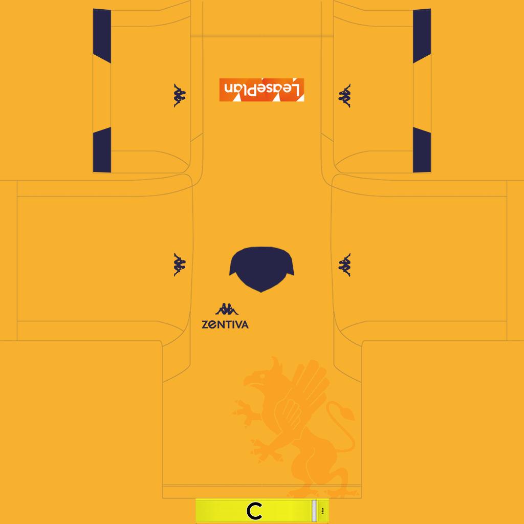 Genoa GK Home Kit Kits Genoa 2019 2020