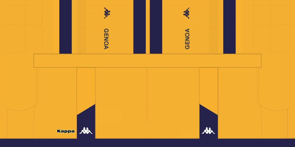 Genoa GK Home Shorts Kits Genoa 2019 2020