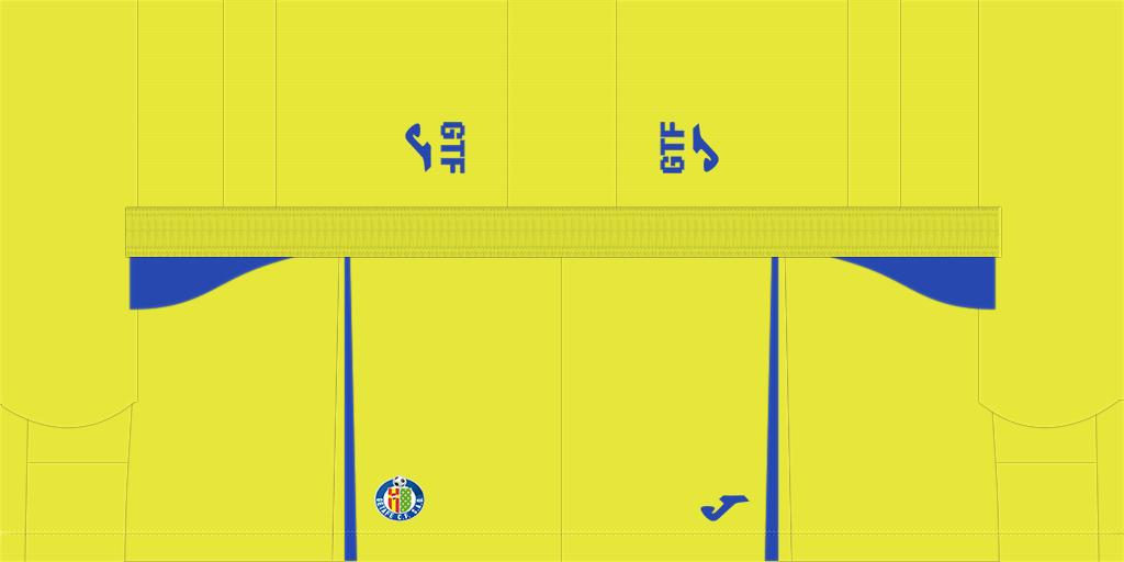 Getafe Third Shorts Kits Getafe 2019 2020