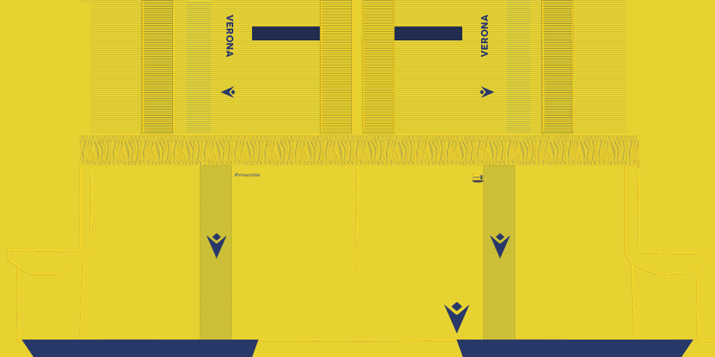 Hellas Verona Away Shorts Kits Hellas Verona 2019 2020