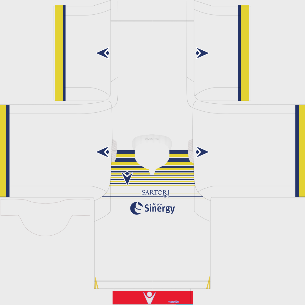 Hellas Verona Third Kit Kits Hellas Verona 2019 2020