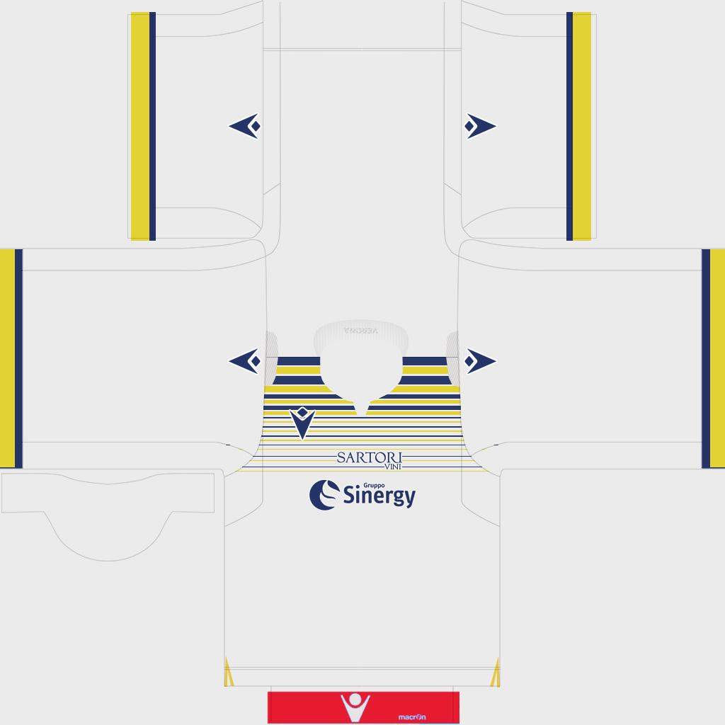 Hellas Verona Third Kit Kits Hellas Verona 2019 2020