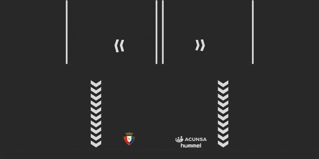 Osasuna GK Shorts Kits Osasuna 2019 2020