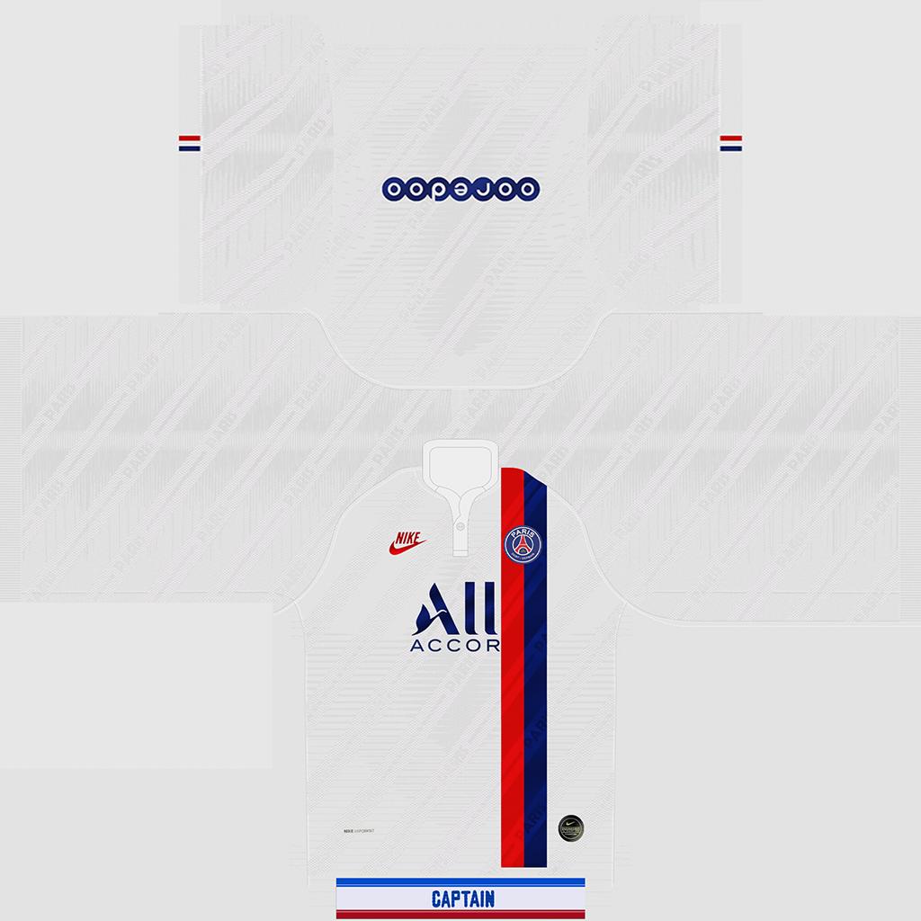 PSG Third Kit 1 Kits PSG 2019 2020
