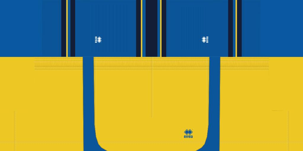 Parma Away Shorts Kits Parma 2019 2020