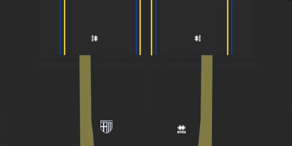 Parma Third Shorts Kits Parma 2019 2020