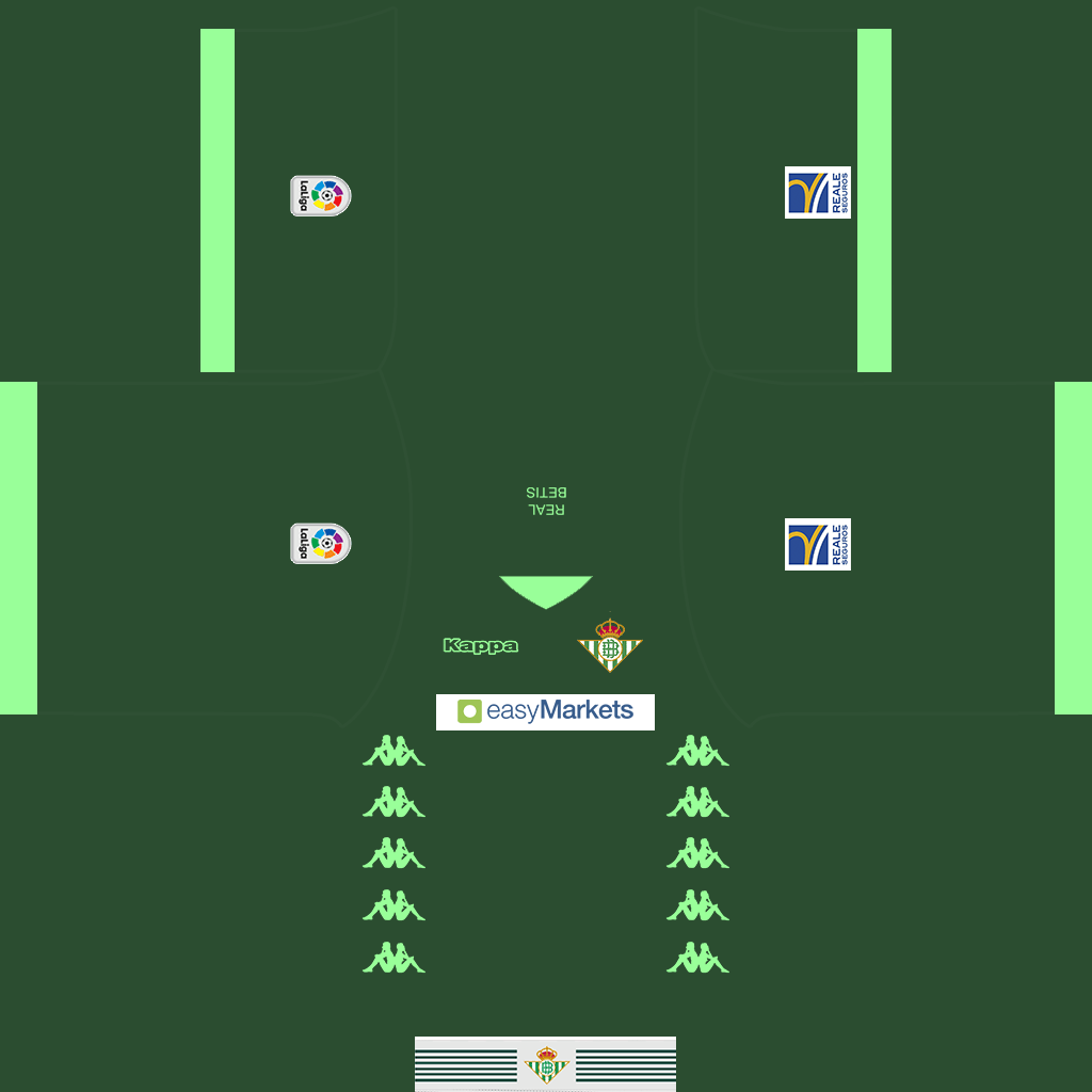 Real Betis Away GK Kit Kits Real Betis 2019 2020