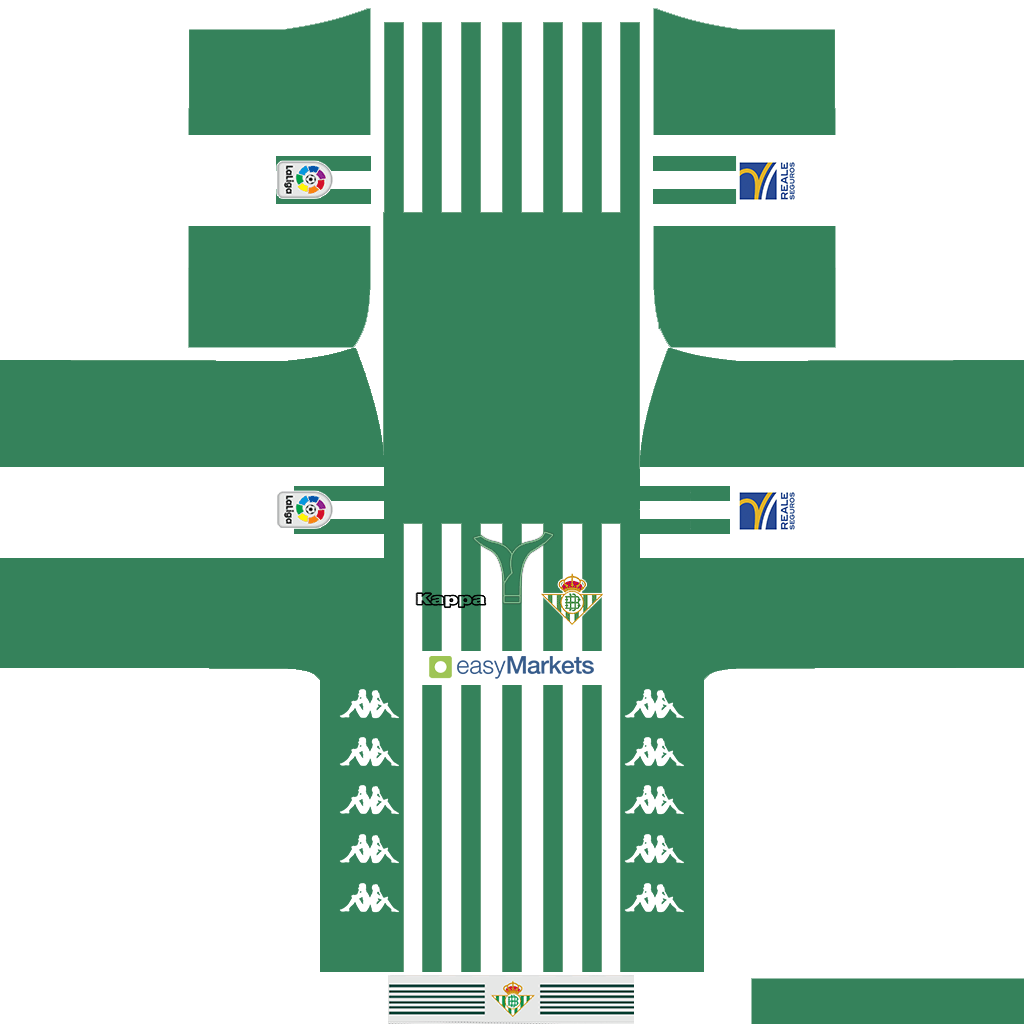 Real Betis Home Kit Kits Real Betis 2019 2020