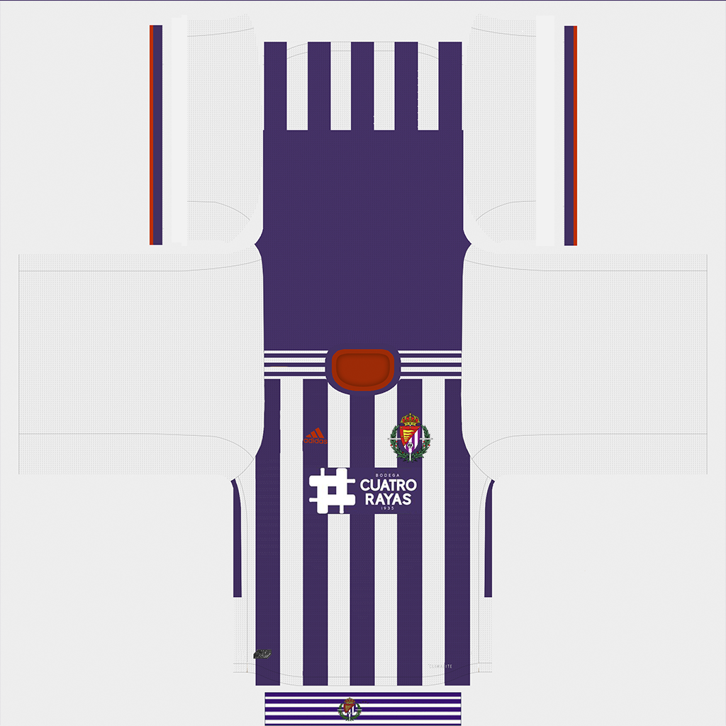 Real Valladolid Home Kit Kits Real Valladolid 2019 2020