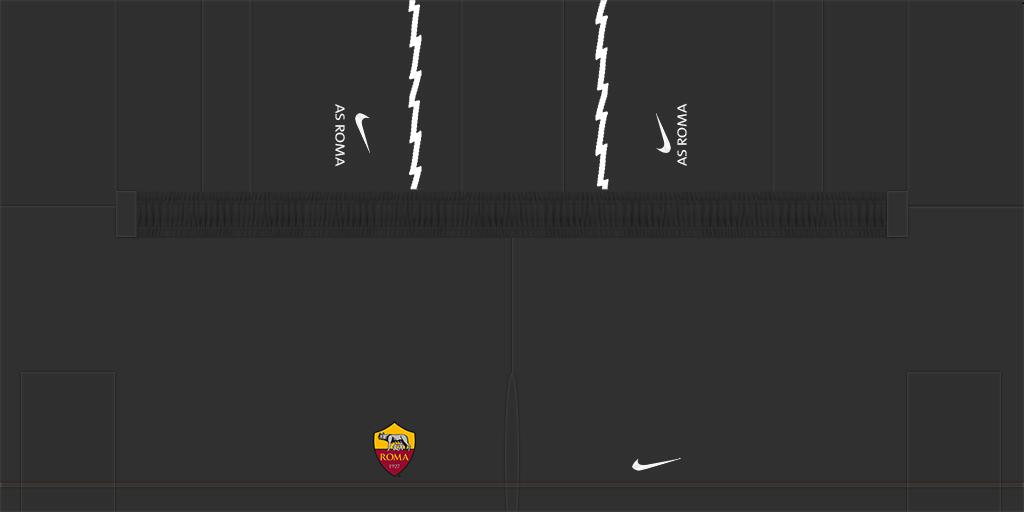 Roma GK Away Shorts Kits Roma 2019 2020