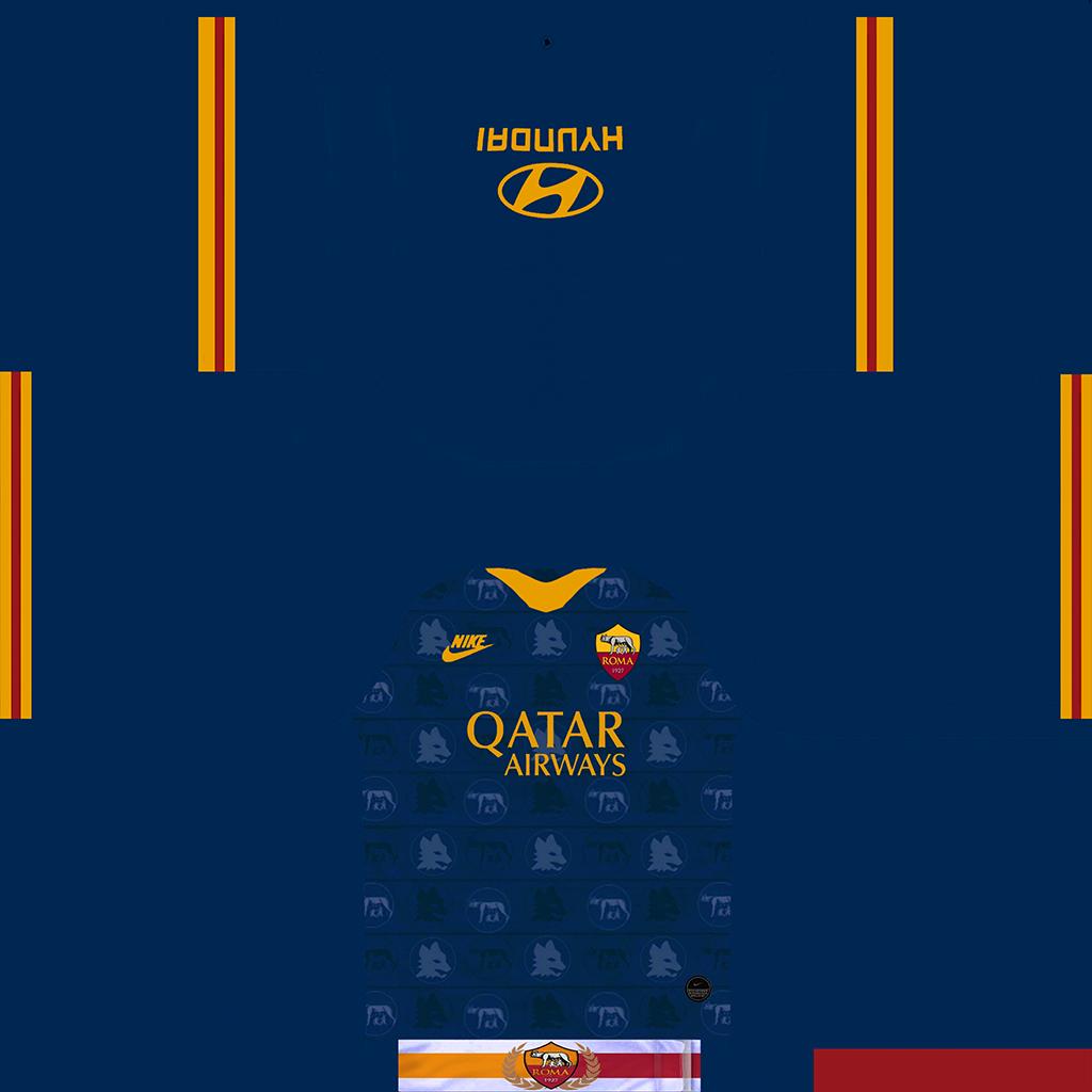 Roma Third Kit Kits Roma 2019 2020