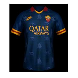 Roma Third MiniKit Kits Roma 2019 2020