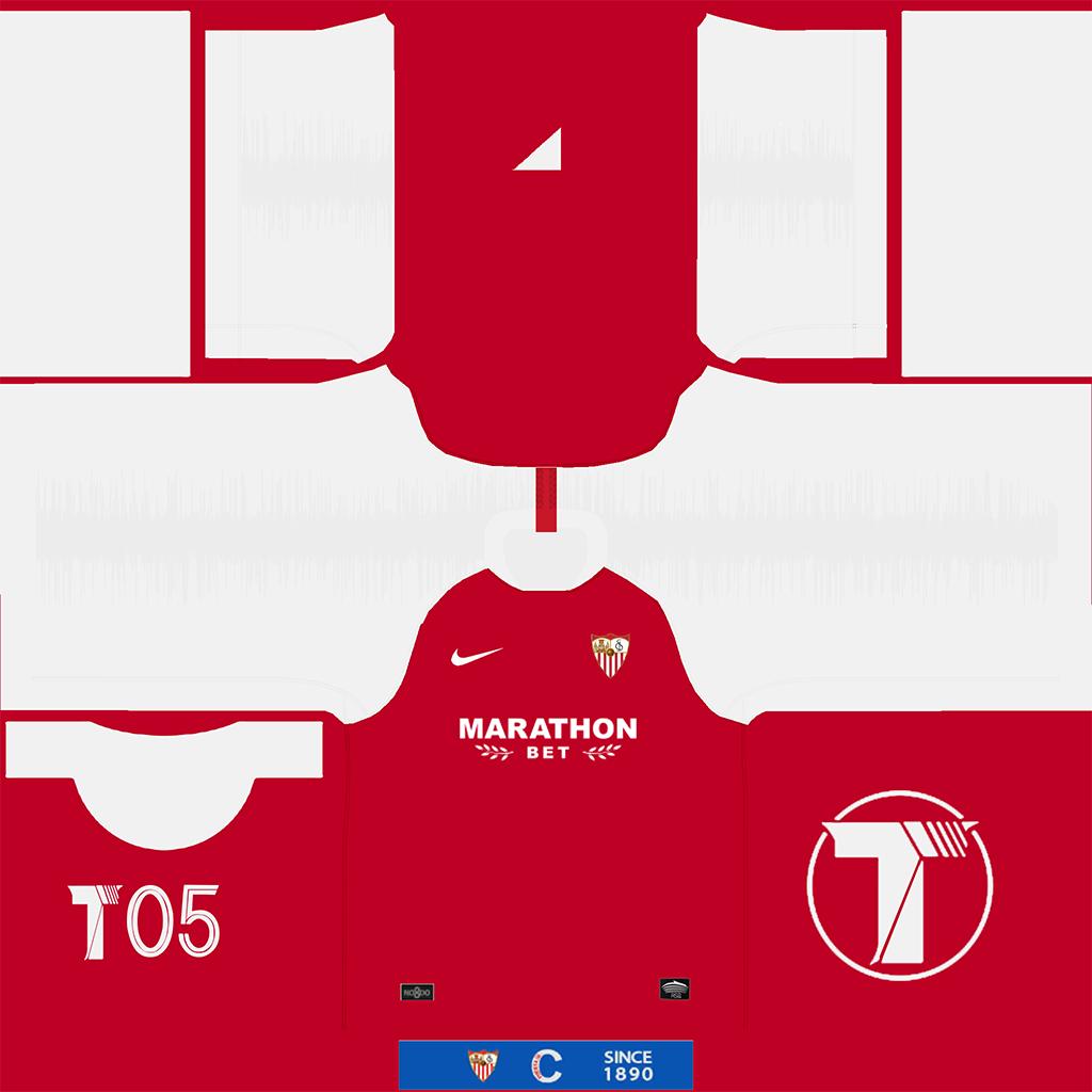 Sevilla Away Kit Kits Sevilla 2019 2020