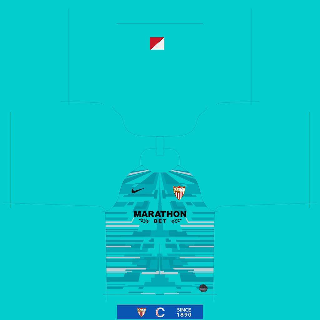 Sevilla GK Away Kit Kits Sevilla 2019 2020