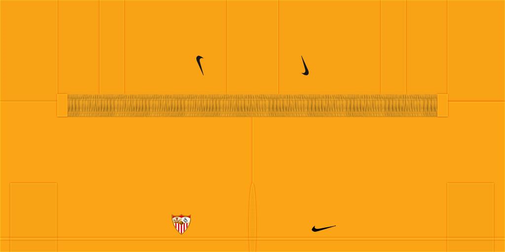 Sevilla GK Home Shorts Kits Sevilla 2019 2020