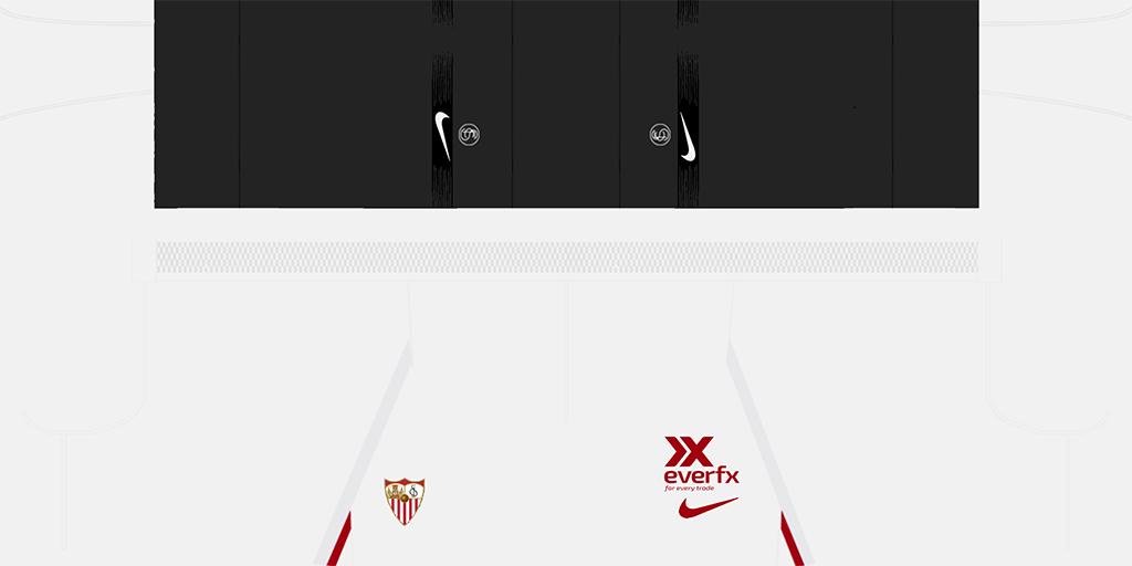Sevilla Home Shorts Kits Sevilla 2019 2020