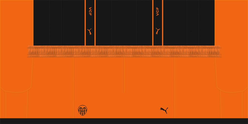 Valencia Away Shorts Kits Valencia 2019 2020