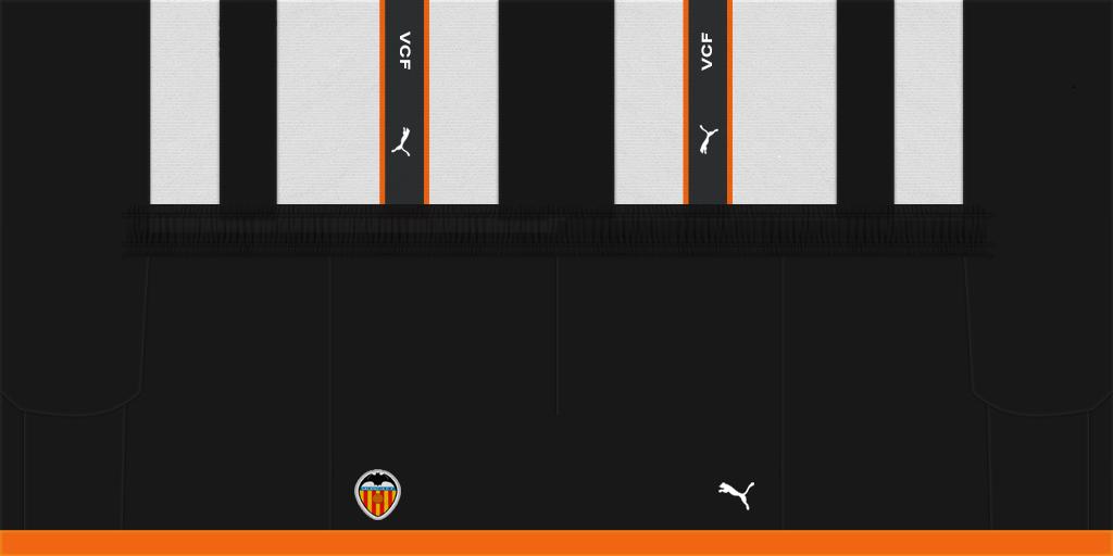 Valencia Home Shorts Kits Valencia 2019 2020