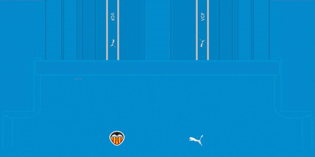 Valencia Third Shorts Kits Valencia 2019 2020