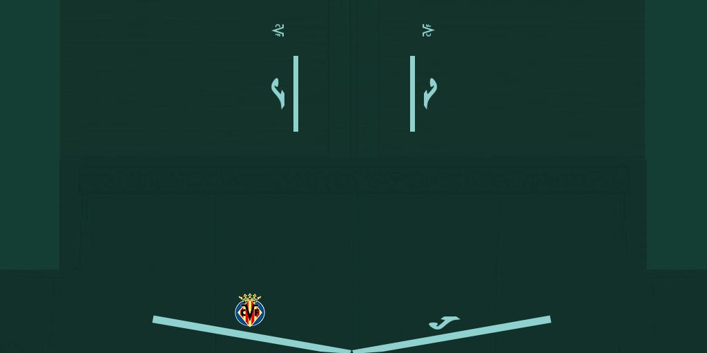 Villarreal Away Shorts Kits Villarreal 2019 2020