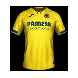 Villarreal Home MiniKit Kits Villarreal 2019 2020