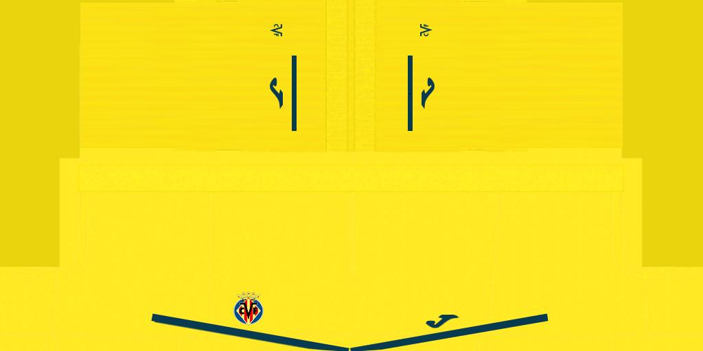 Villarreal Home Shorts Kits Villarreal 2019 2020