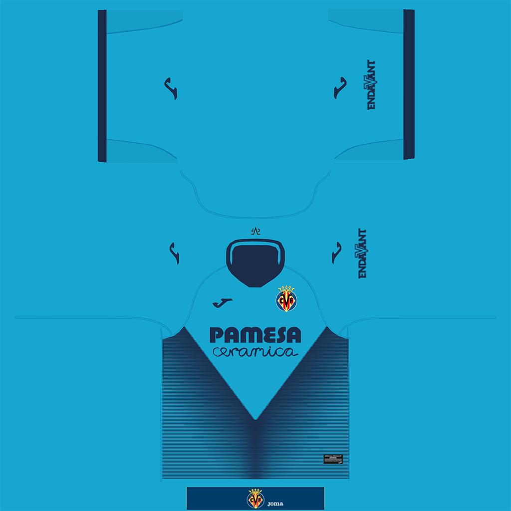 Villarreal Third Kit Kits Villarreal 2019 2020