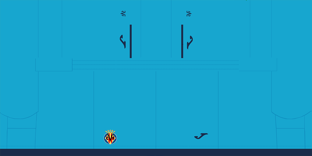 Villarreal Third Shorts Kits Villarreal 2019 2020