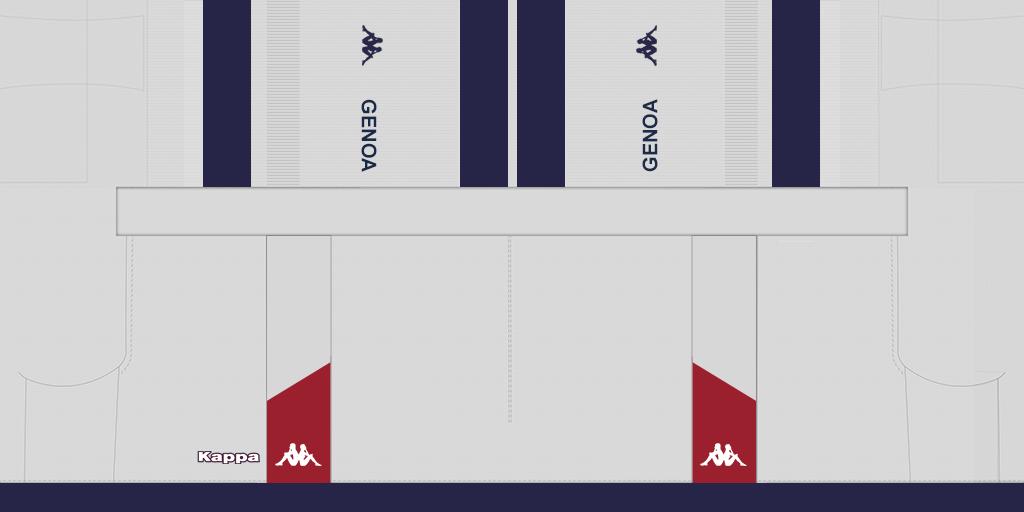 S Kits Genoa 2019 2020